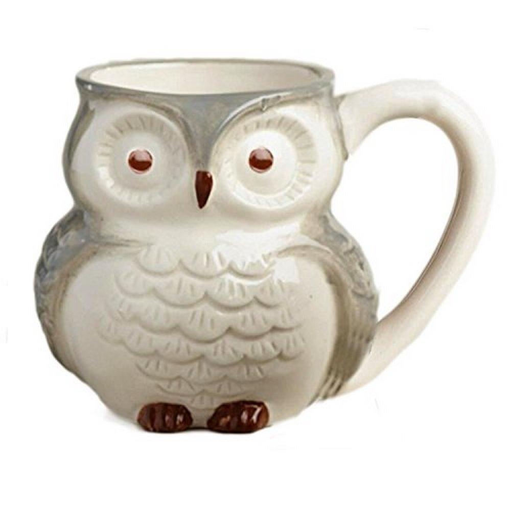 Surprise Owl Coffee Mugs