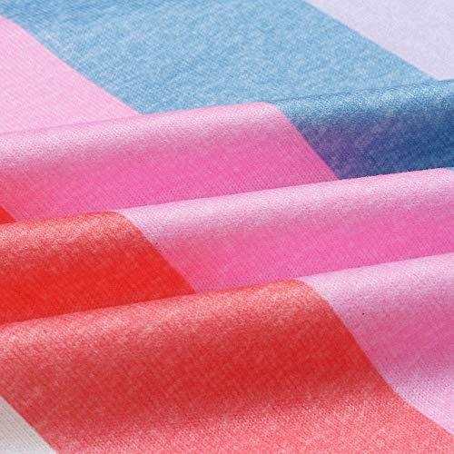 STORTO Womens Long Sleeve Splice Blouse Tunic Tops Casual Color Block Baseball Shirt