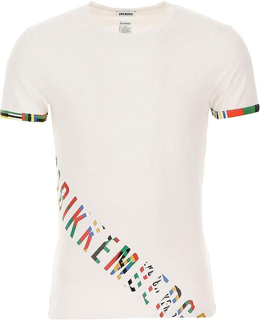 BIKKEMBERGS Uomo T-Shirt BIPACK 2 pack Girocollo Logo T-shirt