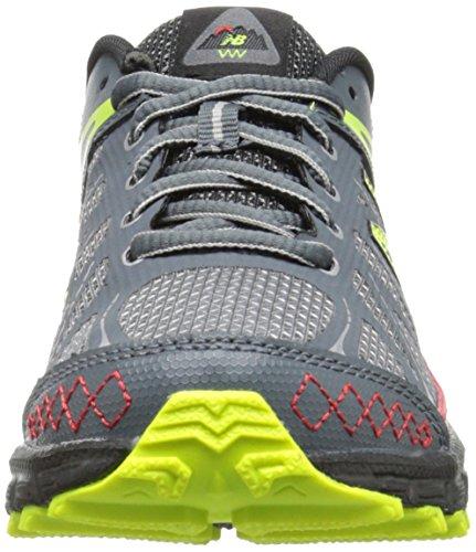 888546333864 - New Balance KJ610 Youth Lace Up Trail Running Shoe (Little Kid/Big Kid), Grey/Red, 2.5 M US Little Kid carousel main 3