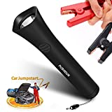 10000mAh 12V Car Jump Starter Battery Booster Torch Strong Flashlight 600 lumens,IP65 Waterproof 5-In-1 Jump Starter, Mobile Device Charger, LED Flashlight, Flasher, Emergency Escape Hammer