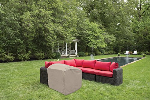Protective Covers 1264-TN Quality End Panel Outdoor Furniture Cover, Tan ()