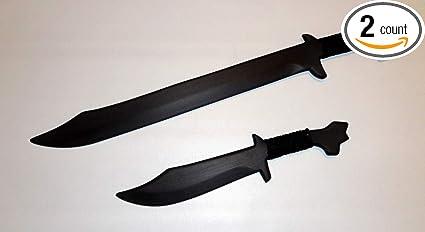 Pink Philippine Bolo Swords Pair Training Filipino Knives Kali Ronin set Combo