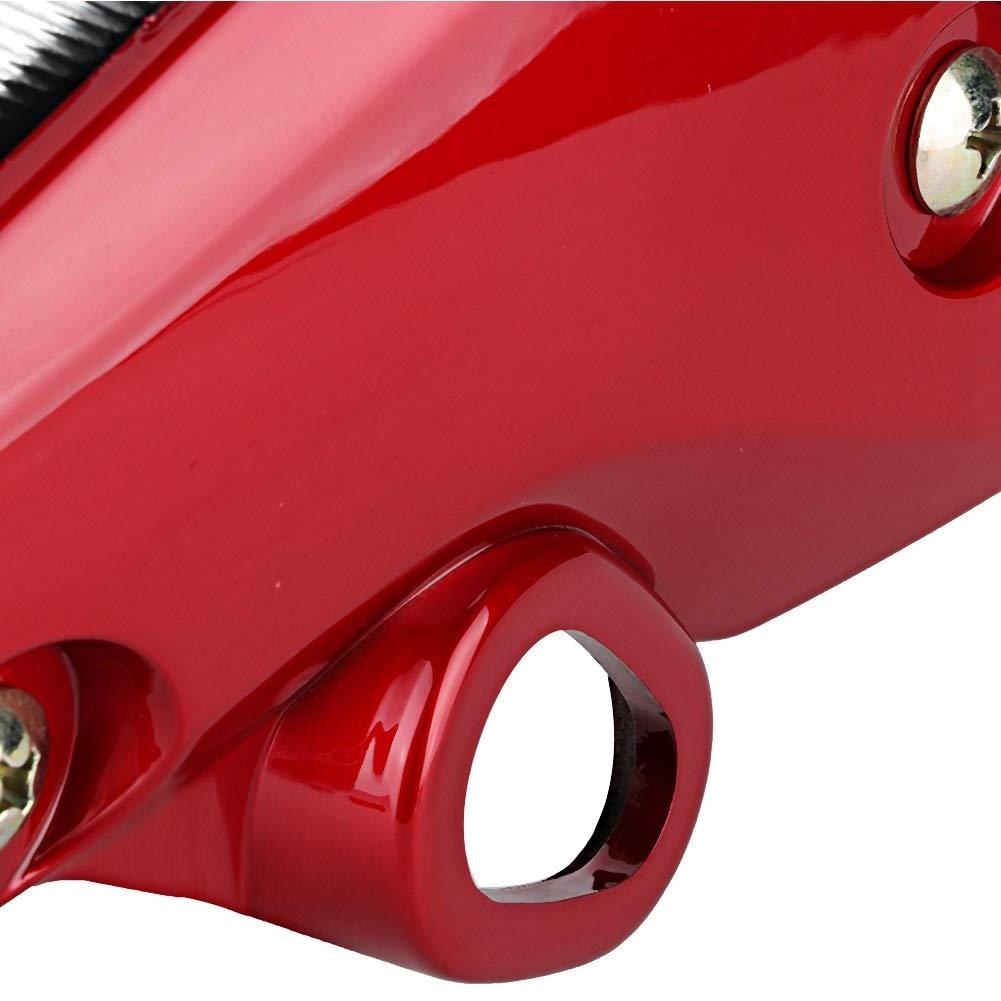 Modifica moto Faro anteriore con staffa lampadina Adatto for FZ16 YS150 Colore : Red Faro anteriore moto