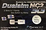 NC2 N3 Dualsim 3G Dualsim Adapter for Samsung Galaxy Note 3 by 2-phones-in-1