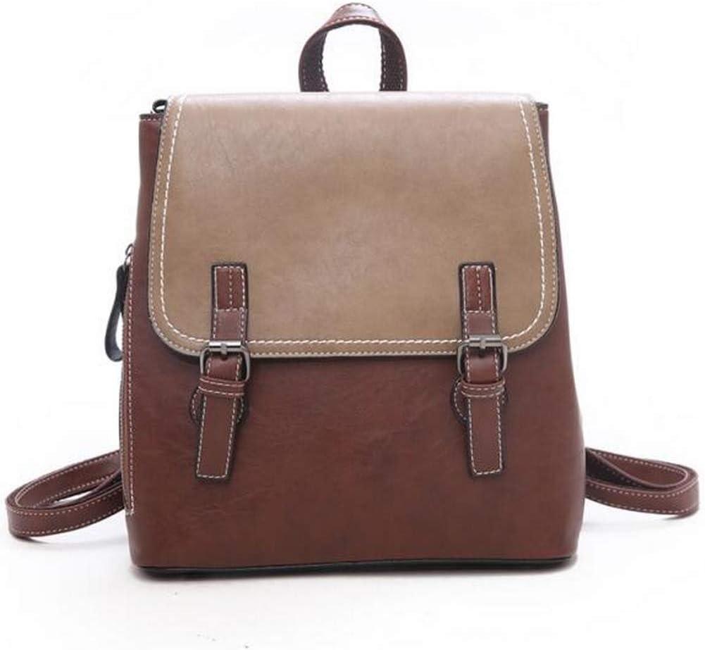 Trendy Women Backpack Female School Shoulder Bag Youth PU Leather Backpacks for Teenage Girls Bagpack mochila