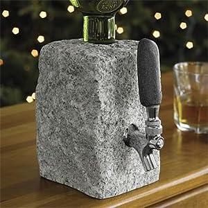 Amazon Com Cobbled Granite Booze Dispenser Kitchen Amp Dining