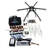 QWinOut DIY Unassembled Folding Hexacopter Aircraft QQ SUPER Flight Controller ARF/RTF Combo Kit
