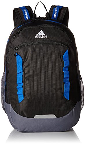 adidas Excel III Backpack, Black/Blue/Onix/Neo White, One Size