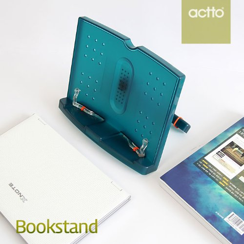Actto BST-09 Green 180 angle adjustable and Portable Reading Stand/Book stand Document Holder