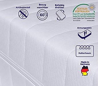 mister sandman 7 zonen matratze orthp dische 7 zonen kaltschaummatratze. Black Bedroom Furniture Sets. Home Design Ideas