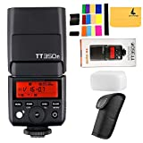 GODOX TT350F 2.4G HSS 1/8000s TTL GN36 Camera Flash Speedlite for Fuji Digital Camera