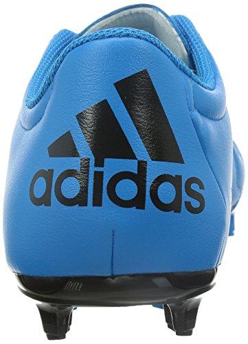 adidas - Botas de fútbol para hombre azzurrogiallo