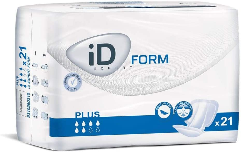 ID Expert–Pañales desechables para Plus–Pañales para adultos