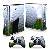 Cheap MightySkins Protective Vinyl Skin Decal Cover for Microsoft Xbox 360 S Slim + 2 Controller skins wrap sticker skins Golf