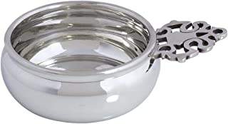 product image for DANFORTH - Baby Porringer - Bowl - Pewter - Polished Finish - 3.75 Diameter - Made in USA - Gift Boxed