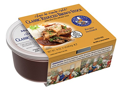 - More Than Gourmet Glace De Viande Gold, Reduced Brown Stock, 16-Ounce Packages