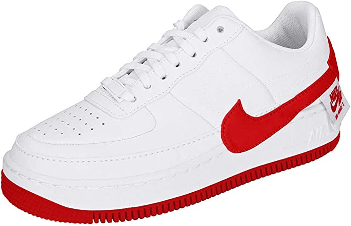 nike air force 1 donna rosse e bianche