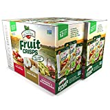 #9: Brothers-ALL-Natural Fruit Crisps, Variety Pack, 12 Count, 4.44 oz (Pack of 2)