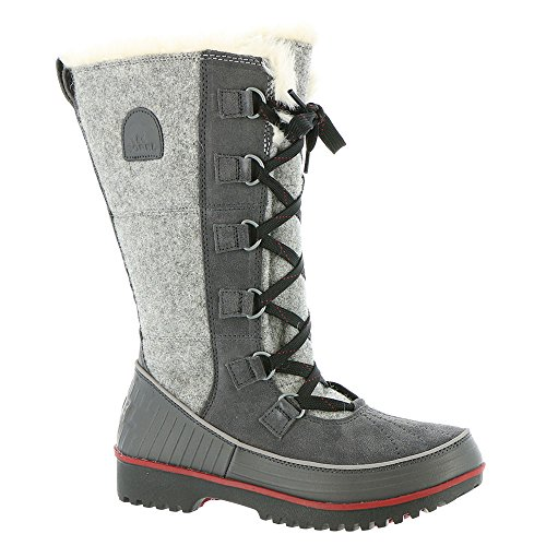 Sorel Tivoli High II Boot - Women's Dark Grey / Red Dahlia 6