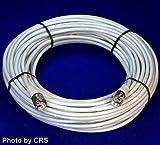 100 ft RG8X Coax Cable for CB/Ham Radio w/ PL259 Connectors - Workman 8X-100-PL-PL