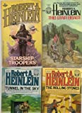 ROBERT A HEINLEIN: PB Novels (6): The Star Beast; Starship Troopers; The Rolling Stones; Tunnel in the Sky; Glory Road; Friday