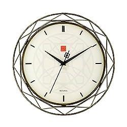 Bulova C4834 Luxfer Prism Frank Lloyd Wright Wall Clock