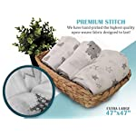 CozyBubs-Swaddle-Blankets-Set-3-Pack-Ultra-Soft-100-Cotton-Muslin-Receiving-Blankets-Hypoallergenic-Chemical-Free-Perfect-Baby-Gifts-for-Girl-Boy-Baby-Shower-Stampy-The-Elephant