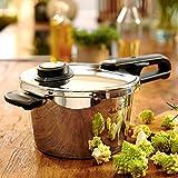 Fissler 620-100-02-070/0 Pressure Cooker Vitavit Premium 2.5 Litr with Insert 18 cm Suitable for Induction