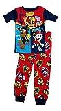 Paw Patrol Little Boys Toddler Short Sleeve Cotton Pajama Set (5T)