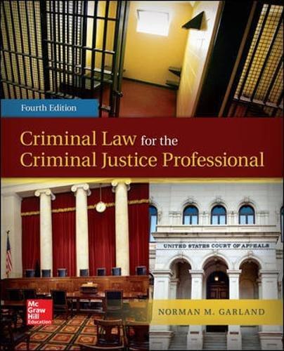 Pdf Law Criminal Law for the Criminal Justice Professional