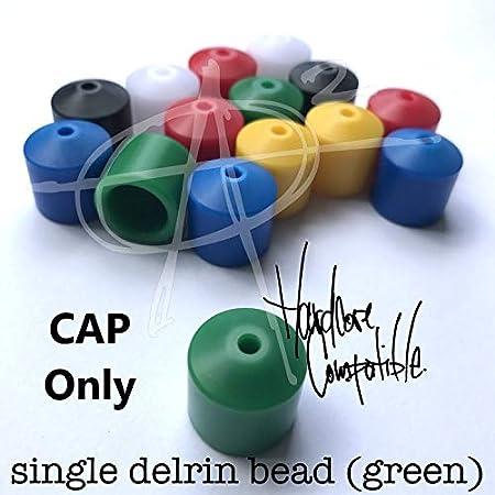 Begleri Caps AroundSquare EveryMan Single Shell Green Delrin