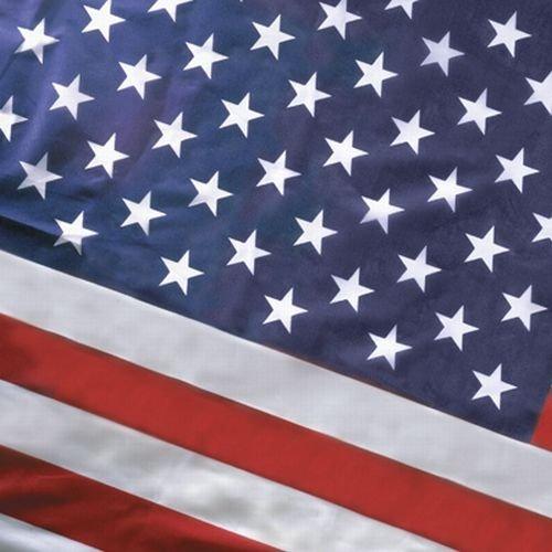 Koralex Usa Flag - Valley Forge Flag Koralex II 2 1/2'x4' Koralex II Polyster U.S. Flag 2.5'x4' Pole Hem Sleeved