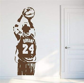 pegatinas decorativas pared Nba Kobe Bryant Baloncesto Fans Room ...