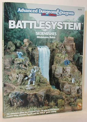And Dungeons Dragons Rules Miniatures (Battlesystem Skirmishes Miniature Rules (Advanced Dungeons & Dragons, 2nd Edition))