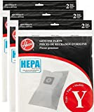 Hoover Type Y HEPA Bag (6-Pack), AH10040