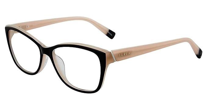 Amazon.com: Eyeglasses Furla VU 4908 - Gafas (talla 09L ...