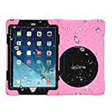 For Apple Ipad Mini / Mini 2 / Mini 3 -- Bolkin® X-rotate Series Hybrid Armor Series Shockproof / Dirtproof / Rainproof / Snowproof Case Cover & Stand (Pink)