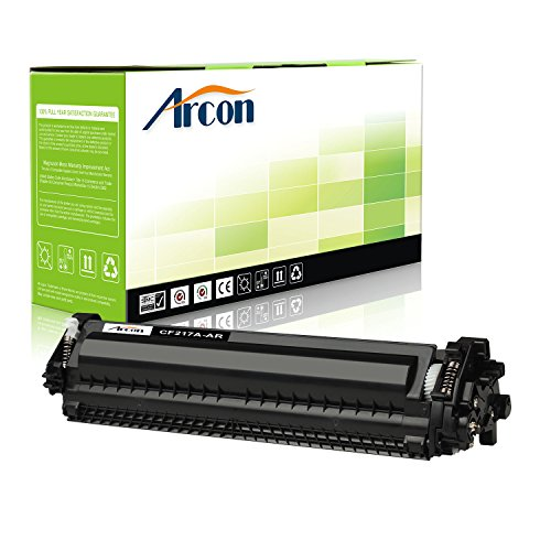ARCON 1PK Black Replacement for HP 17A CF217A Toner Cartridge For HP LaserJet Pro M102w, MFP M130nw M130fw Printer - NO CHIP