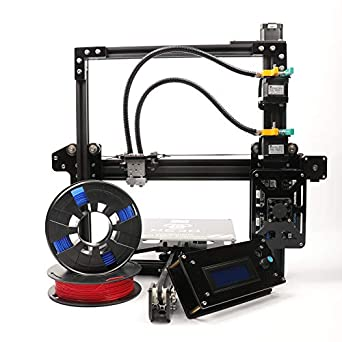 He3d Ei3 Diy 3d Printer Kits Dual Extruder 2 In 2 Out V Groove