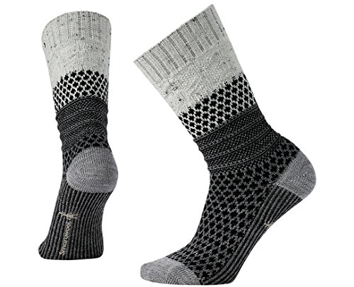 Smartwool Women's Popcorn Cable Winter White Donegal ()