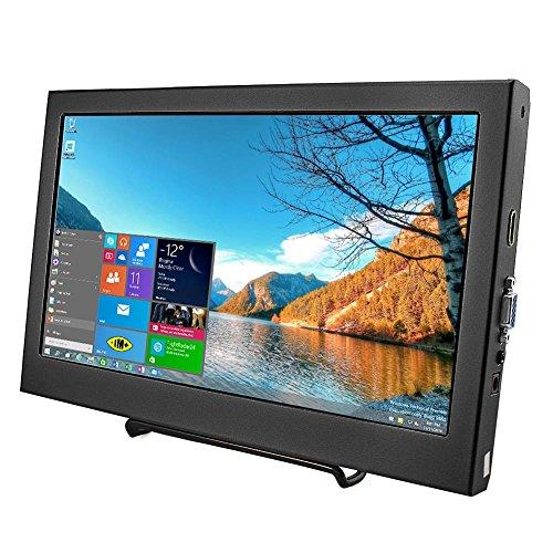 Price comparison product image Elecrow 11.6 Inch 1920X1080 HDMI VGA PS3 PS4 WiiU Xbox360 1080P LED Display Moniter for Raspberry Pi 3, 2 1 Model B B+ Windows 7 8 10 System Home Office Black