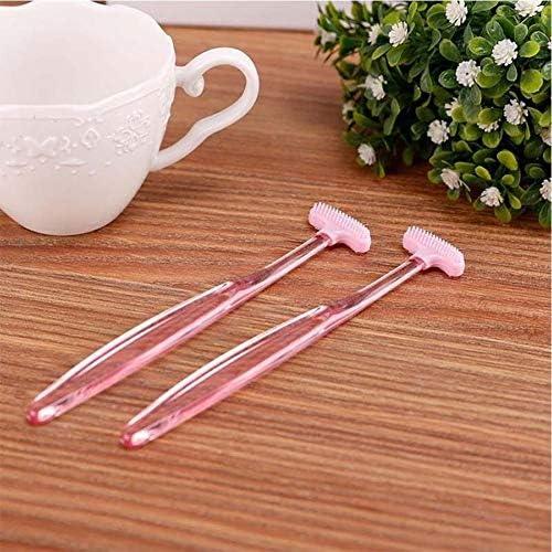 nobrand Oral Bewässerung JRC Zungenschaber Reiniger Oral Zunge reinigen Gesundheit Werkzeug (Pink) Zahnseide Reiniger (Color : Pink)