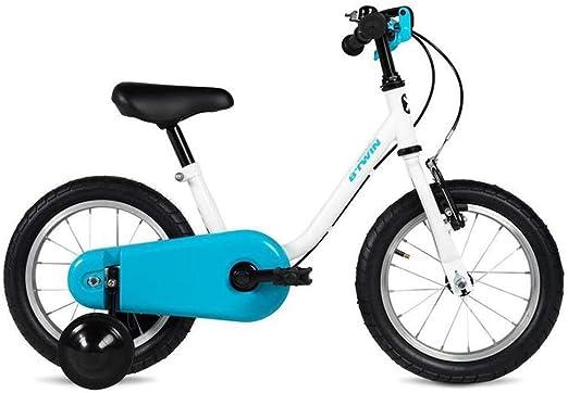 DYFYMXBicicleta niño Bicicleta de Pedal Bicicleta for niños niño niña Bicicleta de Pedales 14 Pulgadas Cochecito Ejercicio Seguro para niños y niñas.: Amazon.es: Hogar