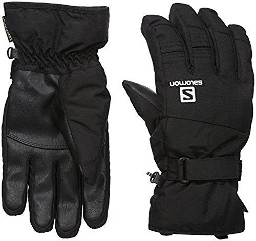 Salomon Men's Force GTX Gloves, Black, Large (Salomon Ski Gloves)