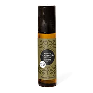 Edens Garden Sandalwood Australian Essential Oil, 100% Pure Therapeutic Grade (Pre-Diluted & Ready To Use- Congestion & Skin Care) 10 ml Roll-On