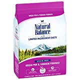 Natural Balance Limited Ingredient Diets Green Pea & Venison Formula Dry Cat Food (1 Pack), 4.5 Lb