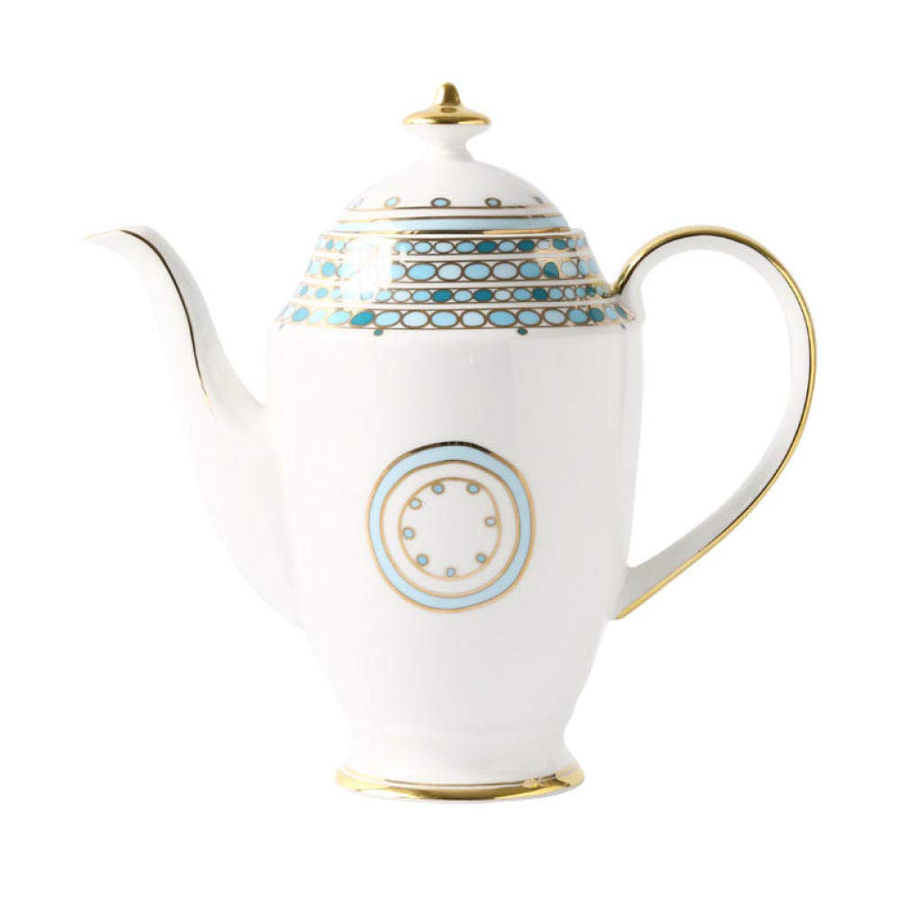 POTOLL Teiera con Filtro Teiera Inglese Fiore Set Ceramica teiera Rossa Porcellana teiera Bone China @a Prezzi