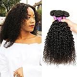 Soft Feel Hair Good Quality Brazilian Curly Hair Weave 3 Bundles...