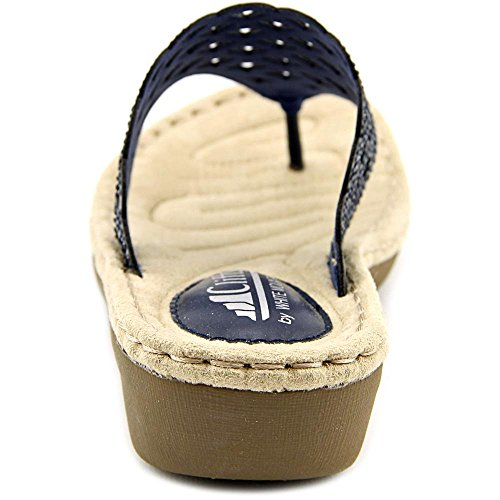 Sandal Cliffs Navy Wedge White by Women's Mountain Cameo YwPxRzWUqw